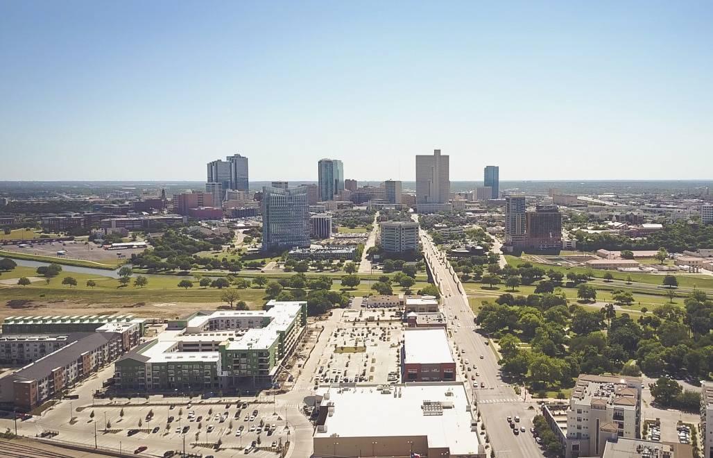Downtown Fort Worth Skyline