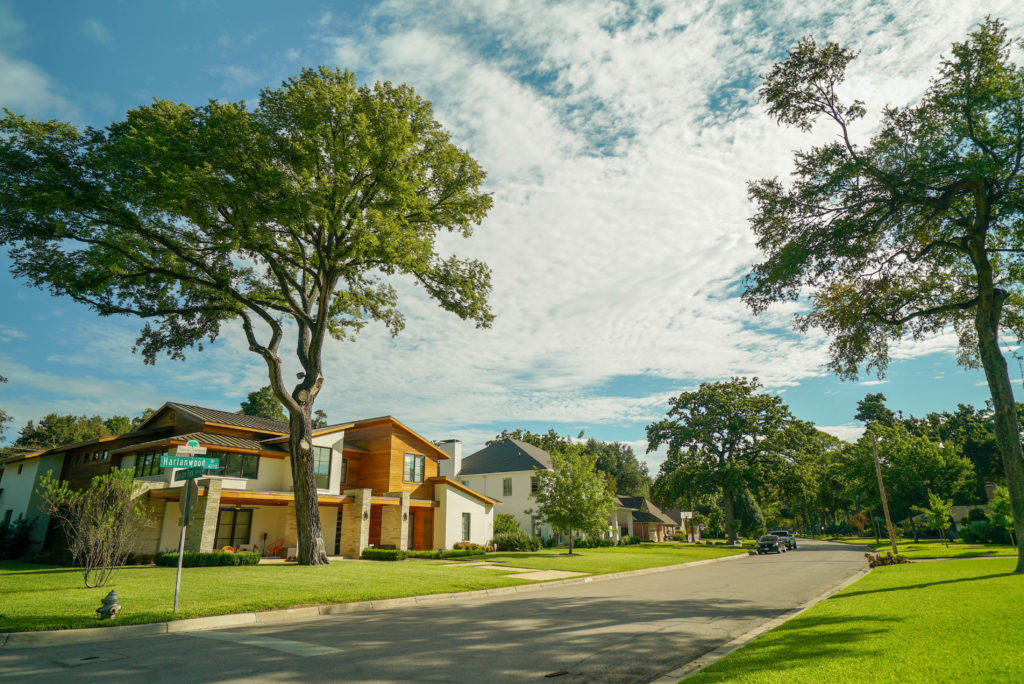 Tanglewood Fort Worth Neighborhood