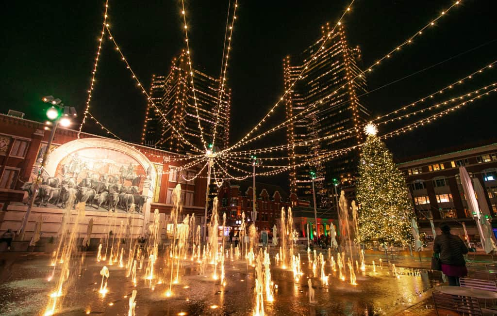 Sundance Square Fort Worth Christmas