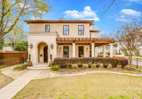 Architecturally stunning Spanish Colonial offers luxury living in the Monticello Cultural District