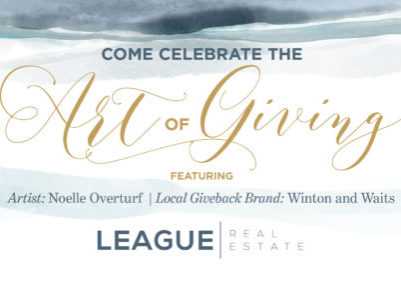 League Art of Giving Event Invites - FB Event