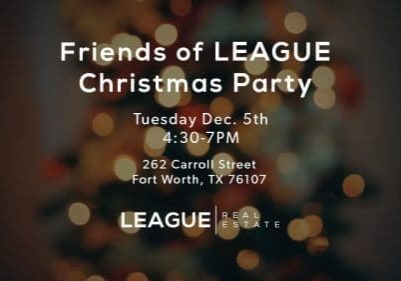 LEAGUE Real Estate Christmas Party